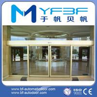 YF150 Automatic sliding glass front door
