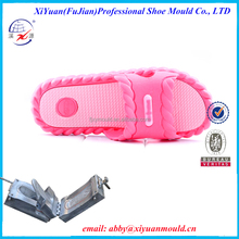 Automatic injection lover bi-color PVC air blowing shoe mold slipper mould making