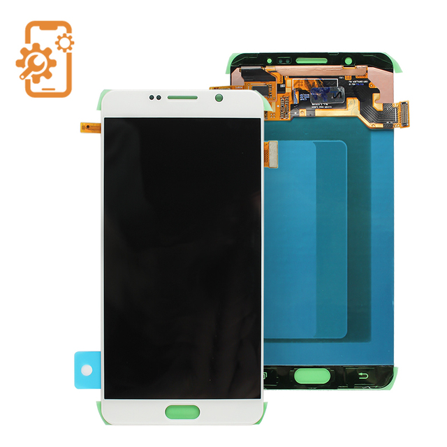 White Blue gold LCD Display Touch Screen Digitizer Assembly For Samsung Galaxy note 5 N9200 lcd