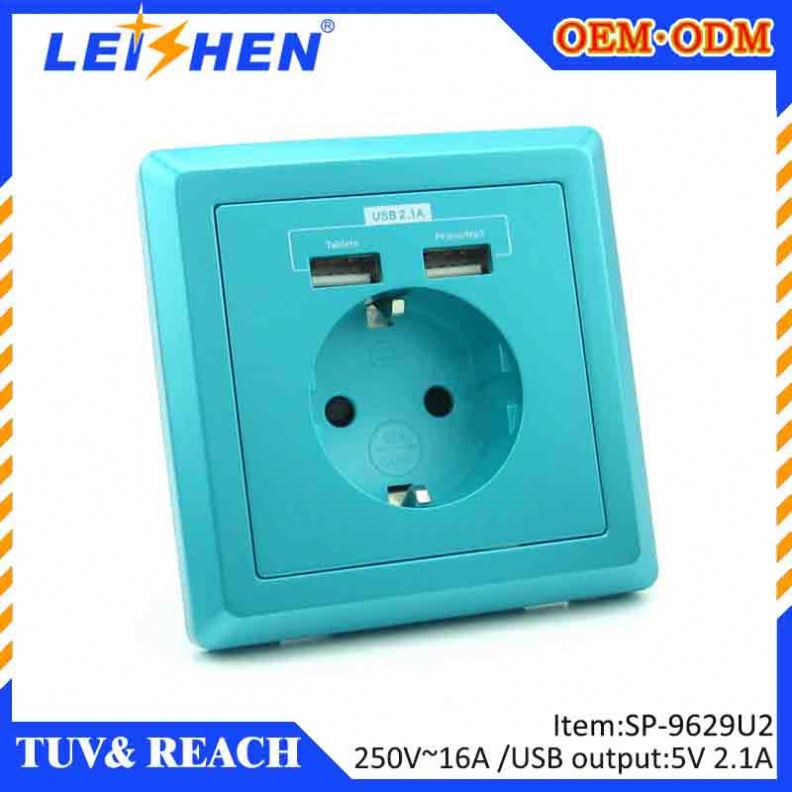 the most popular usb socket wall europe for school ,home, hotel renovation