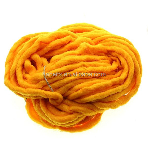 Loops and thread spongy soft bulk slub knitting sweater yarn/pingouin yarn/pineapple yarn on sale