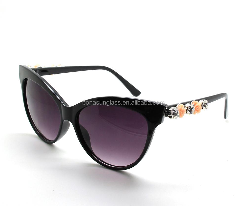 wholesale glasses frame cat eye sunglasses 3d fimo