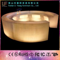 Rechargeable Bar Furniture,2015 Fashion and Modern LED Commercial bar counter