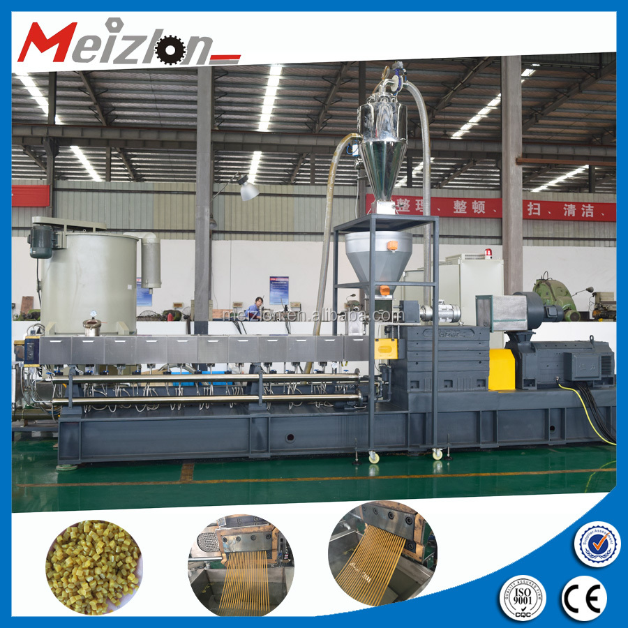 Parallel Counter Rotating Twin Screw Extruder For Sale
