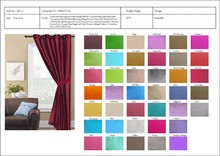 Opening-closing fashion style office curtains and blinds