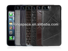 Genuine leather case for iphone 5s from China manufacturer