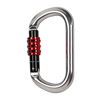 With CE Certificate Super O Type For Rescue Climbing Aluminum Carabiner