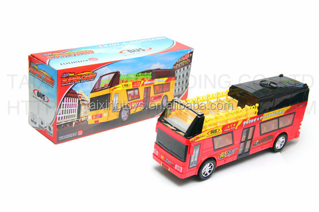 B/O Kids toys scale mode Super line Bus WITH LIGHT AND MUSIC