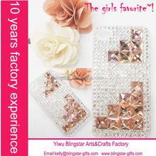 rhinestone diamond bling crystal case for iphone 4