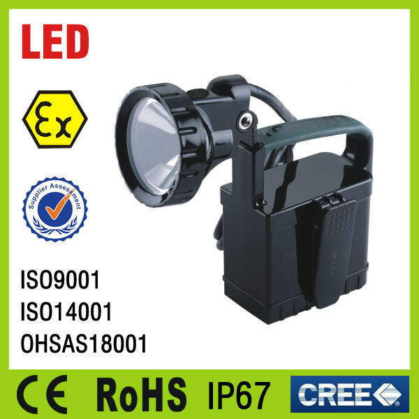rechargeable magnetic portable explosion proof led work light