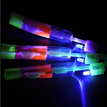 led flying arrow helicopter glowing for kids playing in night SJ-FA01