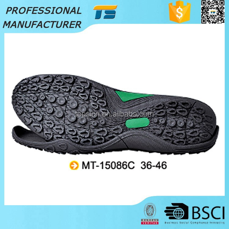 Hot Sale Waterproof Mens Casual Omfortable Adhesive Rubber Shoes Outsole In Stocks