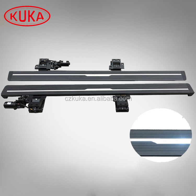 Engine Powered Foot Board Electrical Side Nurf Bars for Toyota Highlander 2010+
