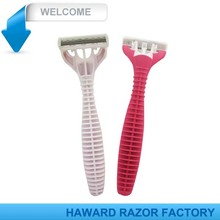 D319L blister packing latest model triple blade razor
