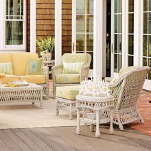 All Weather Hot Sell rattan fiberglass wicker furniture