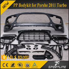 JC Sportline European PP Car With OEM LED DRL Lights PP Turbo Body Kit For Porsche Cayenn e 2011