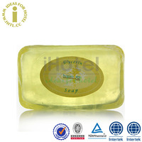 Hotel Natural Handmade Organic Soap Transparent Glycerin Soap