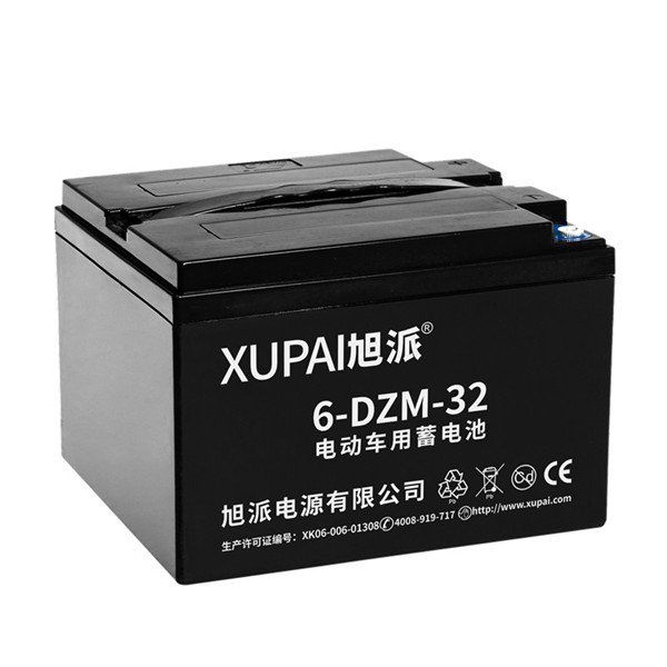 12v 32Ah XUPAI rechargeable battery for electric golf cart