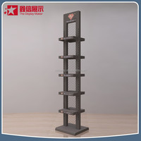 Metal sports shoes display rack /shoe display stands /equipment for shoe store