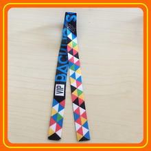 Factory Price Big Events newest festival Fabric RFID Wristband with nfc tag chip