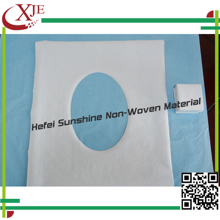 Protect Against Cold, Warm White Disposable Paper Toilet Seat Cover