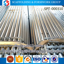 Tianjin SS group high quality made in china galvanized GI pipe/tube,round shape pipe/tube,building scaffolding pipe/tube for sal
