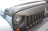 Jeep Jk Wrangler Angry Bird Grille_New Style ABS Plastic Injection Mould Carbon Fiber (Not Real)