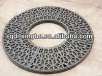 high quality round cast iron tree grates