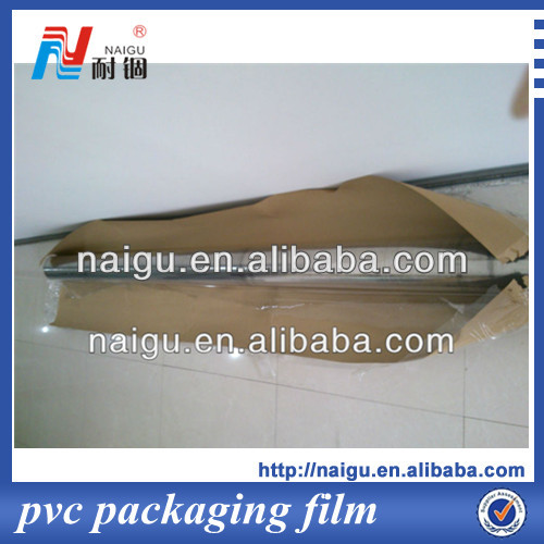 2014new self-adhesive clear plastic film