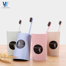Wheat straw bathroom plastic dental cup tooth mug tooth tumbler cup