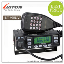CE approved LT-925UV 25w mini dual band mobile base radio