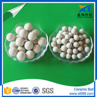 Industrial Porcelain ball ceramic tower packing catalyst support