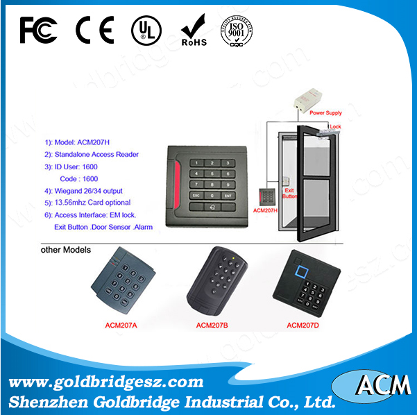 China supplier Combo Hot Swap E Blue Card Reader
