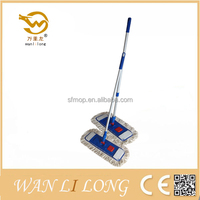 W004 easy cleaning floor foldable mop
