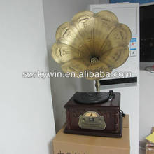 New Fashion christmas wooden music box modern phonograph
