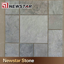 Exterior paving stone natural split interlocking outdoor slate tile for floor