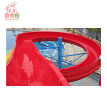Swimming pool equipment china Fiberglass free fall used water park slide for Sale