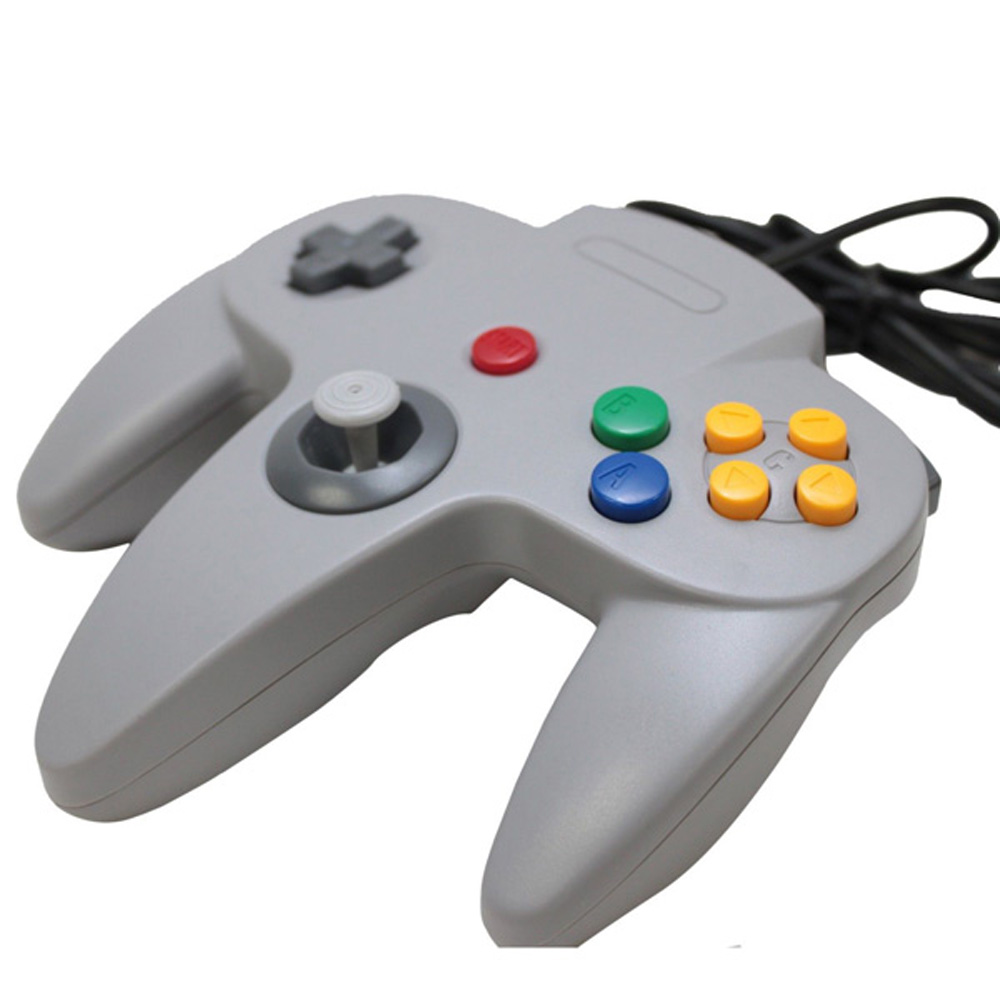 Gamepad Joystick Joypad in Crystal Colour For Nintend N64 Game Pad