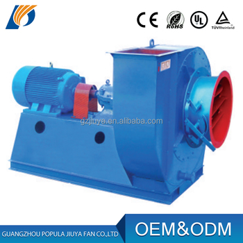 Stainless steel / Aluminum blades Heat Resisting Material centrifugal Fan
