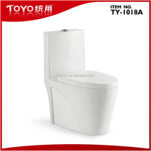 Siphonic S-trap One-piece Toilet