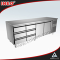 Stainless Steel Commercial Refrigerated Drawer Workbench