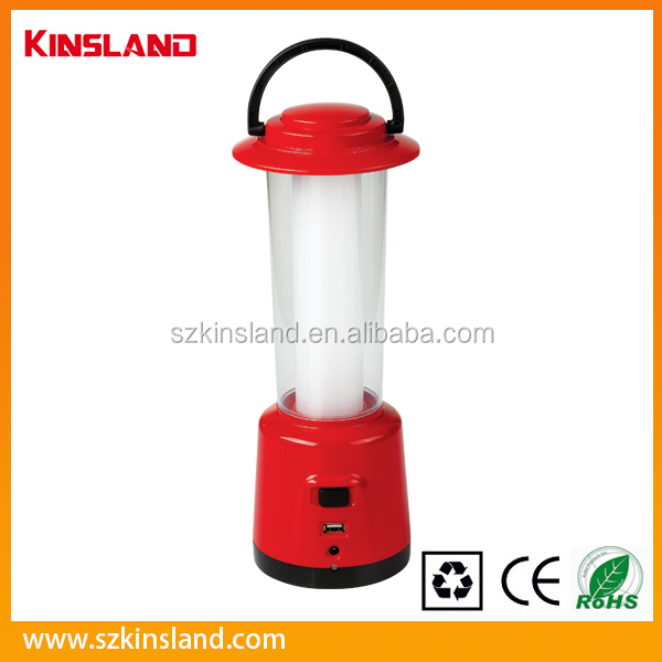 USB/DC 360 degree Area Lighting Led Solar Camping Lantern