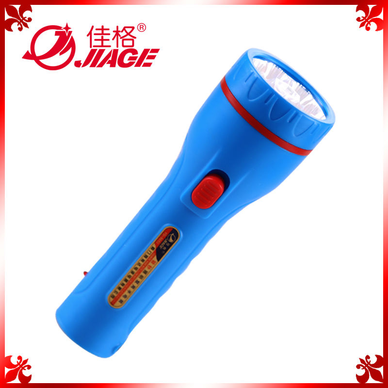 ABS plastic rechargeable led hand torch with counterfeit money detector