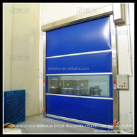guangzhou manufacturers automatic transparent ce certificated garage door