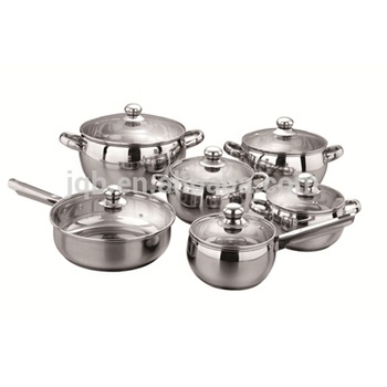Stainless Steel Cookware Set Kitchen Pot And Pan Set Deep Casserole Buy Deep Casserole Stainless Steel Cooking Pot Cookware Set Product On