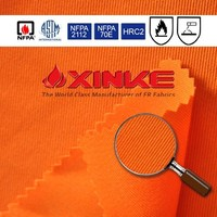 certificatedcombed woven non flammable fabric