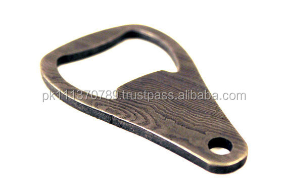 Damascus Bottle opener key