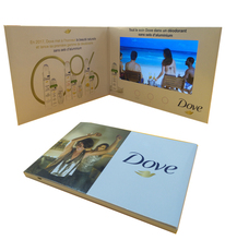 Promotional 7 Inch Video Greeting Card Module, Video Brochure, Video Gift Card
