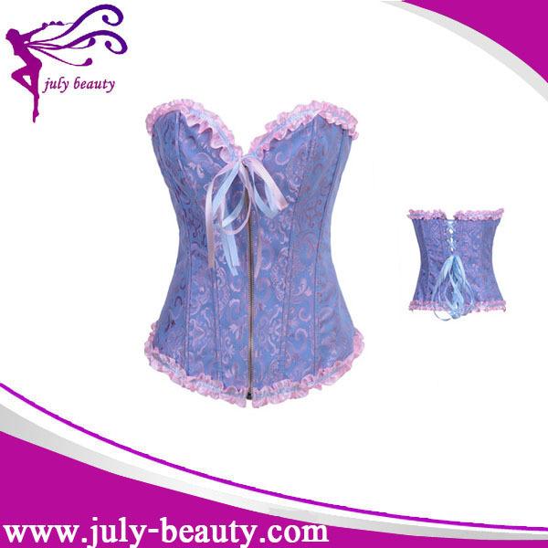 tops plus size waist trainging corset steel boned bustier body shaper wholesale outwear corset