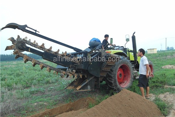 Factory supply high quality walk behind pipeline trencher